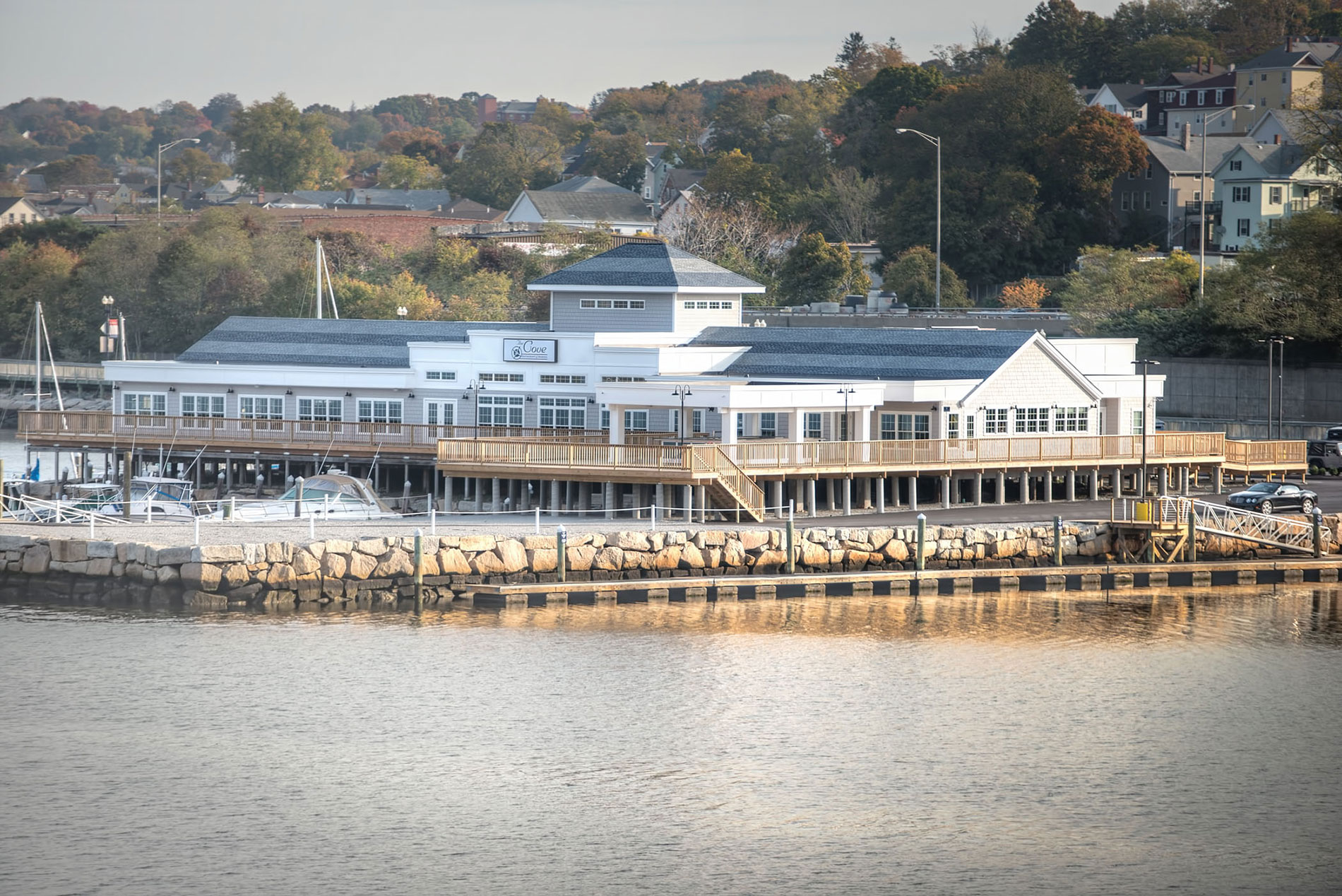The Cove Restaurant & Marina, Fall River, MA